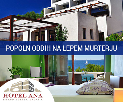 Hotel Ana 3*, Murter: pomladni oddih s polpenzionom