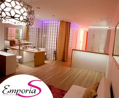 Salon lepote EmporiaS: diamantni piling, maska