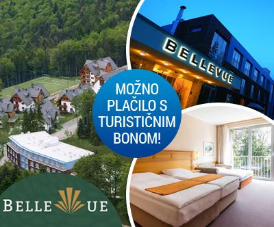 Grand hotel Bellevue 4*, Pohorje: turistični bon