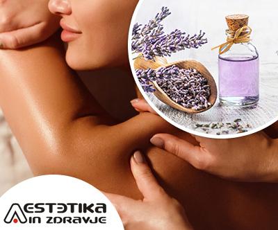 Klasicna masaža celega telesa in obraza z oljem sivke