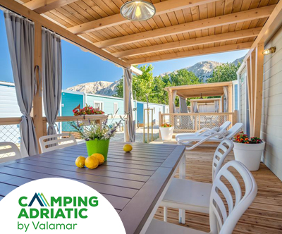Baška Beach Camping Resort 4*: mobilne hiške