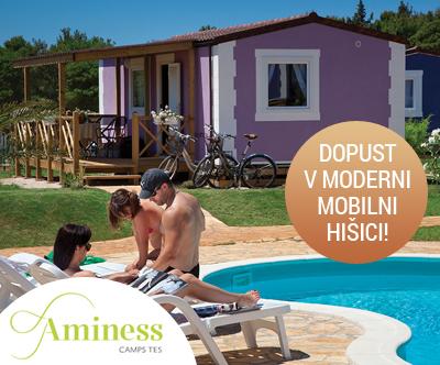 Kamp Aminess Sirena 4*, Novigrad: mobilna hiška
