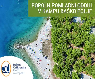 Kamp Baško Polje, Baška Voda: mobilne hišice