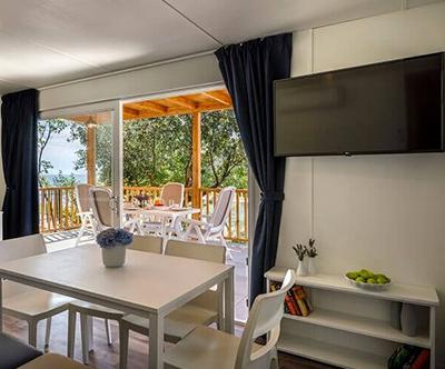 Kamp Porto Sole, Vrsar: mobilne hišice Superior