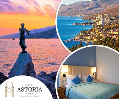 Hotel Astoria 4*, Opatija: top oddih za 2 osebi