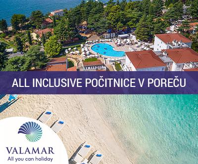 Valamar Pinia Hotel 3*, Poreč: all inclusive oddih