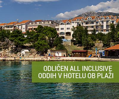 Hotel Zagreb 3*, Karlobag: all inclusive oddih