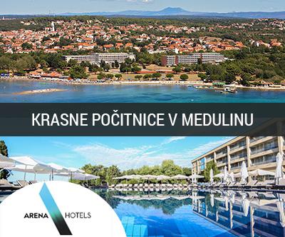 Arena Hotel Medulin 4*: mega počitnice