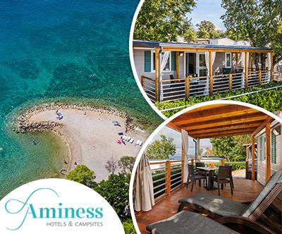 Aminess Atea Camping Resort 4*, Njivice: mobilne hišice