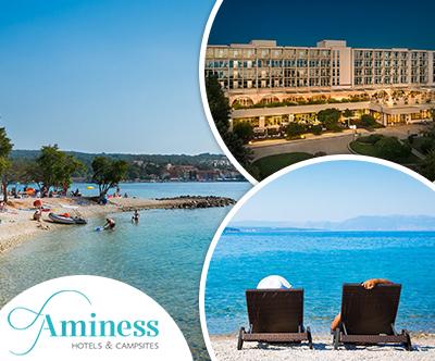 Aminess Magal Hotel, Njivice: mega počitnice