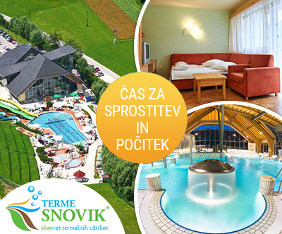 Apartmajsko naselje Terme Snovik 4*