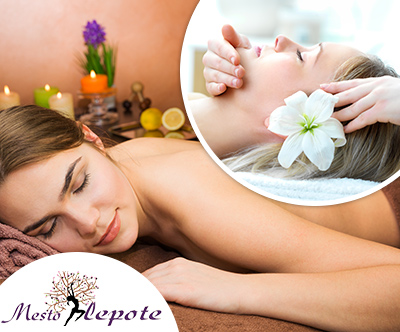 Salon Mesto Lepote, Prestižna sprošcujoca masaža
