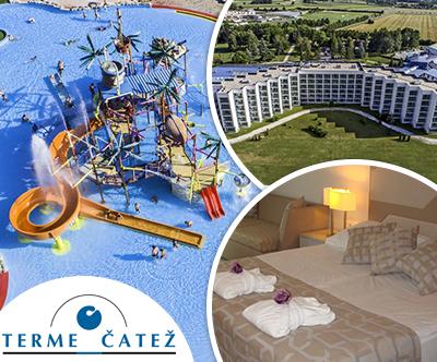 Terme Catež, Hotel Terme 4*, Catež: poletne počitnice