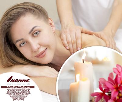 Studio Inanna: švedska klasična masaža telesa, 60 min