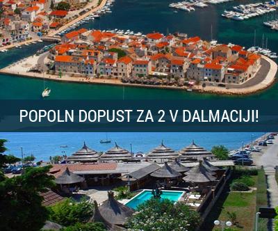The Movie Resort Apart Hotel 3*, Tribunj, 2x nocitev
