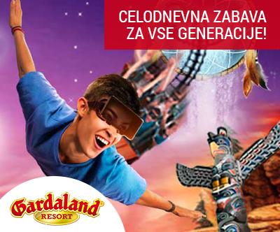 Zabaviščni park Gardaland: vstopnica za 1 osebo