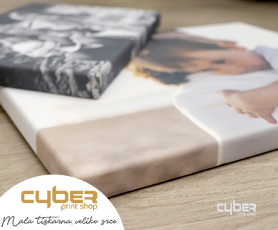 Cyber Print Shop,Tisk fotografije na platnu 30 x 40 cm
