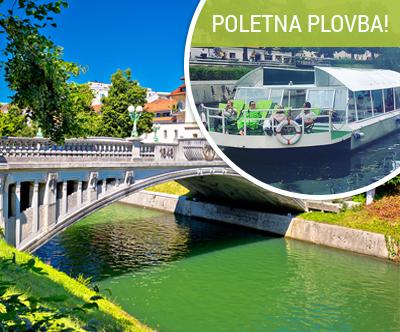 Izlet po Ljubljanici z ladjico Žaba