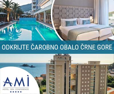 Hotel Ami 5* Petrovac, Budva, Črna Gora