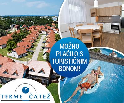 Terme village – Apartmaji Terme Catež: turistični bon