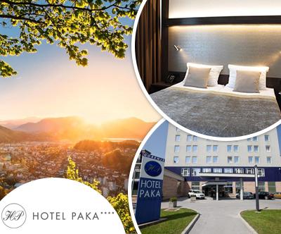 Hotel Paka 4*, Velenje: poletni oddih