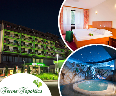 Terme Topolšica, hotel Vesna 3*: wellness oddih