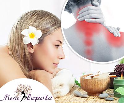 Salon Mesto lepote: protibolečinska terapija, masaža