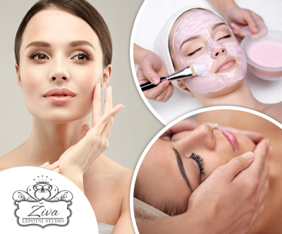 Lepotni studio Živa: masažno-kolagenska nega obraza