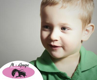 M-Grupe: žensko barvanje, striženje + GRATIS otroško