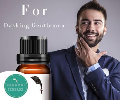 Ucinkovito olje za rast brade (10 ml)