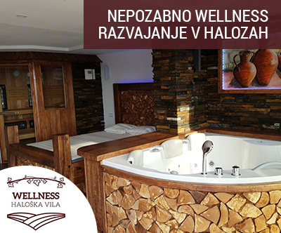Wellness Haloška vila, Zavrč: wellness razvajanje