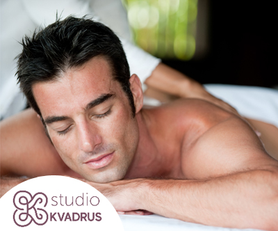 Studio Kvadrus: masaža po izbiri (75 min)