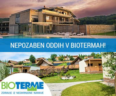 Bioterme 4*, Mala Nedelja: polpenzion za 2 osebi