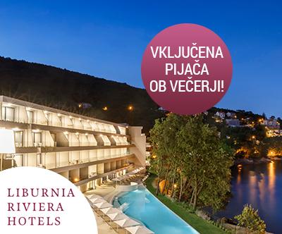 Hotel Ičići 4*, Opatijska riviera: oddih s polpenzionom