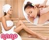 Salon Nano: finska savna in klasicna masaža za 1 osebo