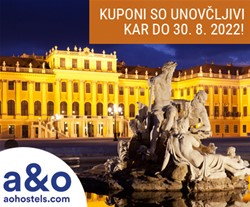 A&O hotel, Dunaj: 3-dnevni oddih za 2 osebi