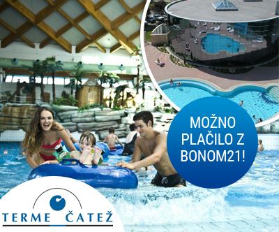 Terme Catež, Hotel Catež 3*: turistični bon