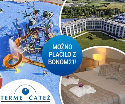 Terme Catež, Hotel Terme 4*, Catež: turistični bon