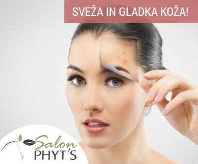 Kozmetični salon Phyt's, Tretma za nego aken
