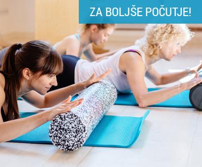 Začetni paket pilatesa (8 obiskov)