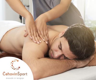 Vrhunska 45-minutna terapevtska masaža