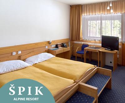 Hotel Špik 3*, Gozd Martuljek: oddih s polpenzionom