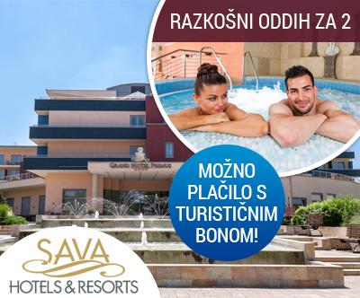 Grand Hotel Primus 4*sup, Terme Ptuj: turistični bon
