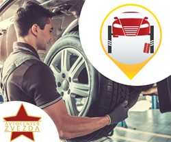 Avtocenter Zvezda: premontaža pnevmatik do 16 col