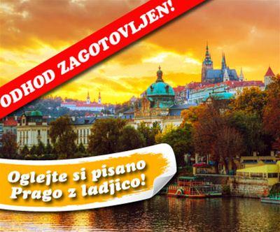 Ceška, Praga: spomladanski 2-dnevni izlet v Prago!