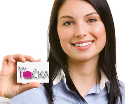 Tisk osebnih ali poslovnih vizitk (100 kosov)