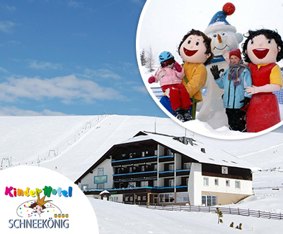 Smucarska sezona v KinderHotelu Schneekönig