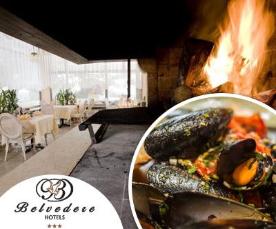 1 kg pidocev na buzari v Restavraciji Kamin v Izoli
