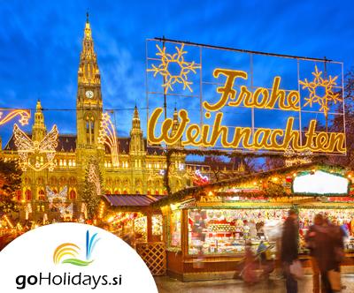Izlet na predbožicni Dunaj z goHolidays!