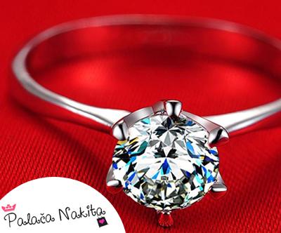 Cudovit 4-delni set nakita s kristali Swarovski®
